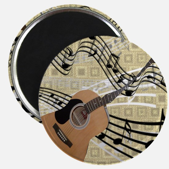 Abstract Guitar Magnet