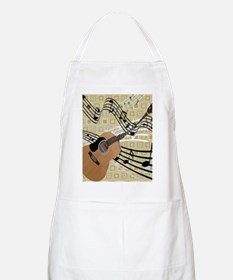 Abstract Guitar Apron