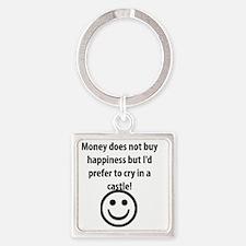MONEY! Square Keychain