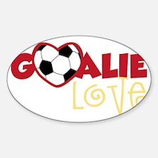 Goalie Love Decal