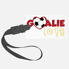 Goalie Love Luggage Tag