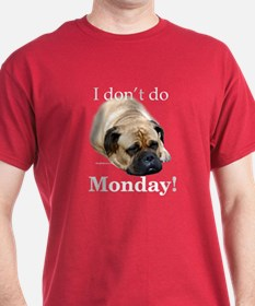 Bullmastiff Monday T-Shirt