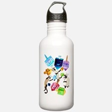 Delightful Dreidels Water Bottle