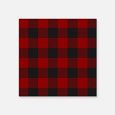 "MacGregor Rob Roy Tartan Sh Square Sticker 3"" x 3"""