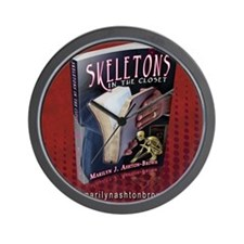 SKELETONS IN THE CLOSET 2 Wall Clock