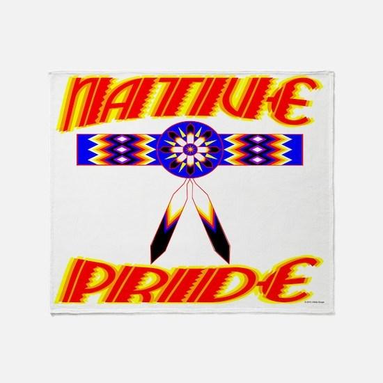 NATIVE PRIDE Throw Blanket