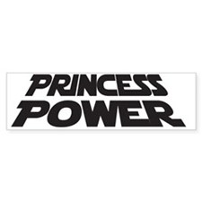 Princess Power Bumper Sticker