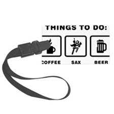 Marching-Band---Saxophone-ABH1 Luggage Tag