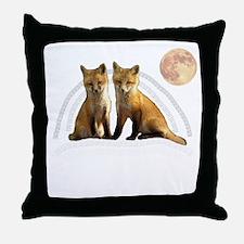 Fox Fox Throw Pillow