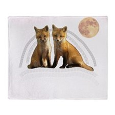 Fox Fox Throw Blanket