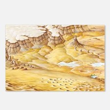 Desert features Postcards (Package of 8)
