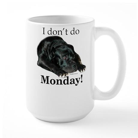 Cane Corso Monday Large Mug