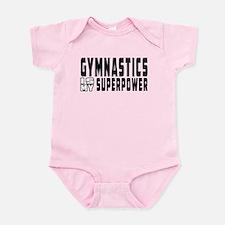 Gymnastics Is My Superpower Infant Bodysuit