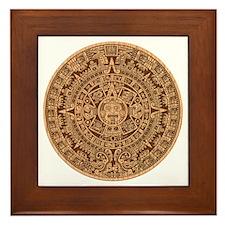 Mayan Calendar 2012 End of the world Framed Tile