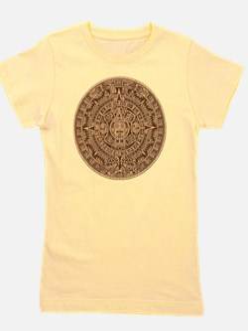 Mayan Calendar 2012 End of the world Girl's Tee