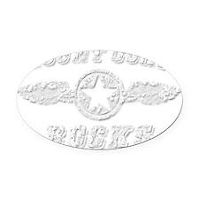 MOUNT CORY ROCKS Oval Car Magnet