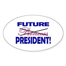 Future President Oval Decal