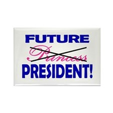 Future President Rectangle Magnet