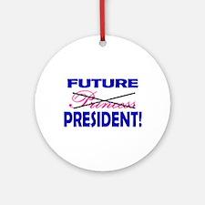 Future President Ornament (Round)