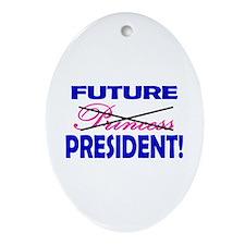 Future President Oval Ornament