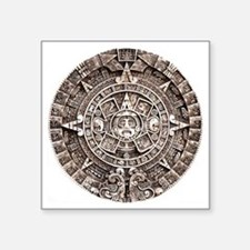 """Mayan End of the World 2012 Square Sticker 3"""" x 3"""""""