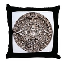 Mayan End of the World 2012 Calendar Throw Pillow