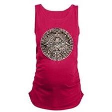 Mayan End of the World 2012 Cal Maternity Tank Top