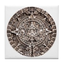 Mayan End of the World 2012 Calendar Tile Coaster