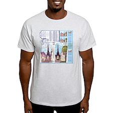 Paris Eiffel Tower Las Vegas inspire T-Shirt