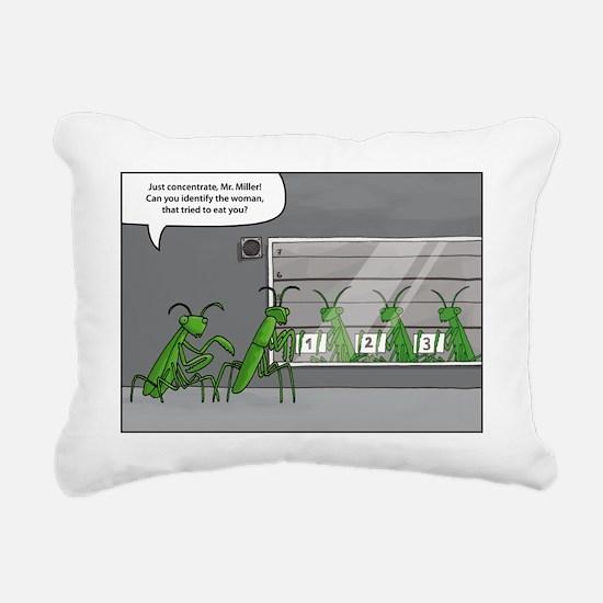 mantis identification Rectangular Canvas Pillow