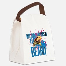 Bearded Dragon - My Dragon Has A  Canvas Lunch Bag