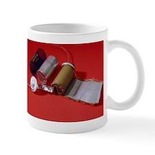 Dismantled capacitor Mug