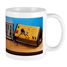Direct and alternating current Mug