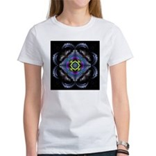Dark Leather Fractals Tee