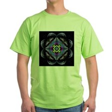 Dark Leather Fractals T-Shirt