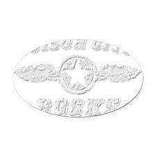 SUISUN CITY ROCKS Oval Car Magnet