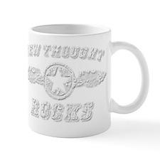 NEW THOUGHT ROCKS Mug