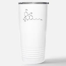 THC Symbol (Tetrahydroc Stainless Steel Travel Mug