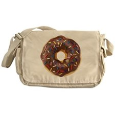Doughnut Lovers Messenger Bag