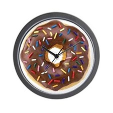 Doughnut Lovers Wall Clock