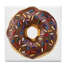 Doughnut Lovers Tile Coaster