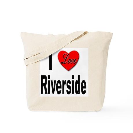 I Love Riverside Tote Bag