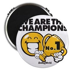 We are the champions Magnet