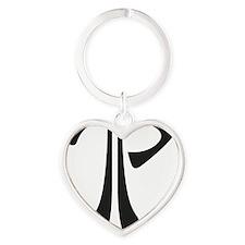 Todd_Logo Heart Keychain