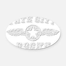 TATE CITY ROCKS Oval Car Magnet