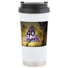 40 Year Birthday - One  Travel Mug