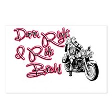 Riding Bitch Postcards (Package of 8)