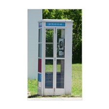 Phone Booth Decal