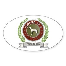 PIO Adopted Oval Decal