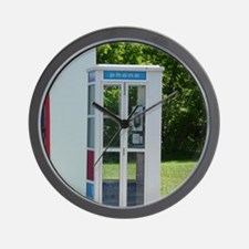 Pay Phone Wall Clock